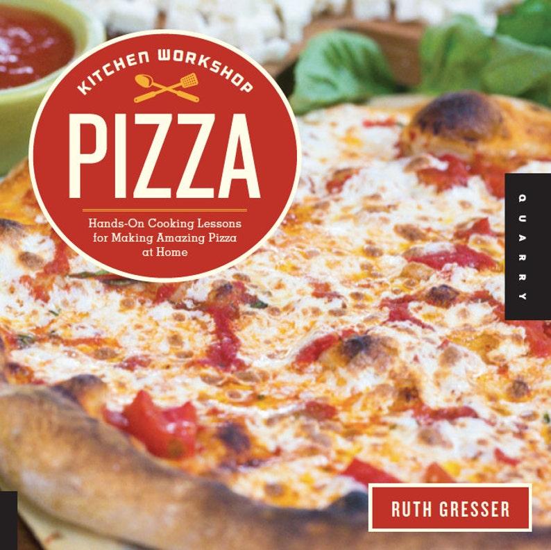 Kitchen Workshop  Pizza cookbook: Hands-On Cooking Lessons image 0