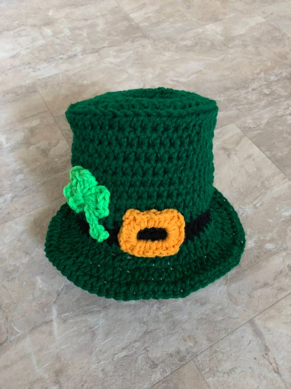 c600014b24c Leprechaun Top Hat St Patrick s Day Hat Leprechaun Baby