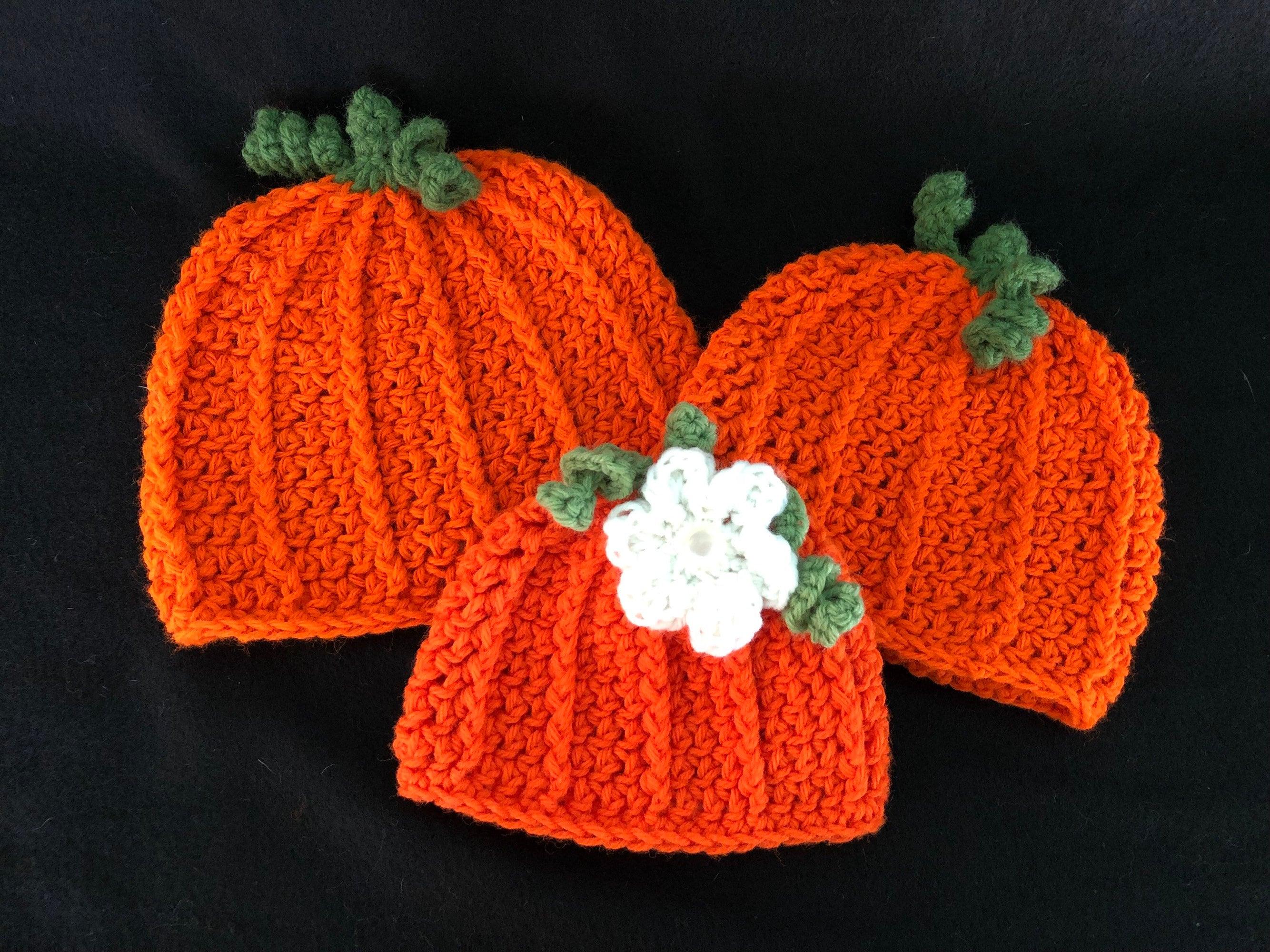 Pumpkin Hat Fall Baby Ribbed Pumpkin Hat Toddler Pumpkin  6be16027ca1