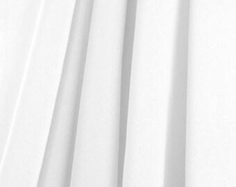 White Chiffon Fabric - by the Yard