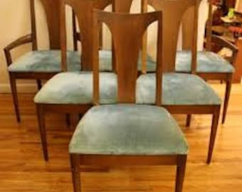 Ordinaire Broyhill Brasilia    Single Piece Back SIDE Chairs   Note Also For Sculptra  And Other Broyhill Collections