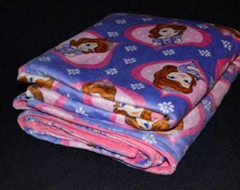 Character Minky Blanket