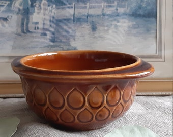 home decor collectible Christmas gift mid-century Westgerman pottery ceramics 60s tableware vintage design JASBA BOWL SERVING tray 5016