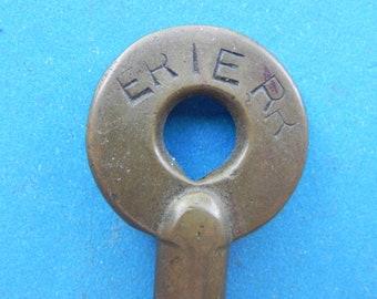 "Old ""ERIE RR"" Railroad Switch Key. Erie Railroad."