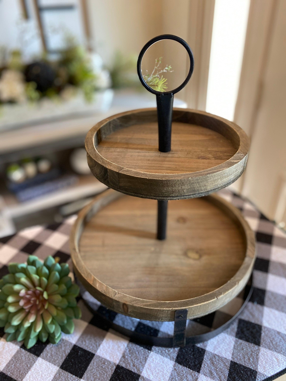 Custom Wood Trays Coffee Bar Decor Custom Decor Wooden Tray Home Decor Trays Rae Dunn Inspired