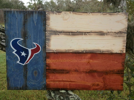 Houston Texans Texas Flag