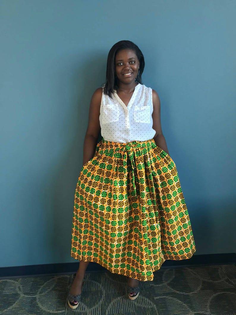 b458128cb4 New African clothing African skirt african skirts ankara