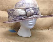 Vintage Soprattutto Cappelli Derby Style Hat, Made in Italy
