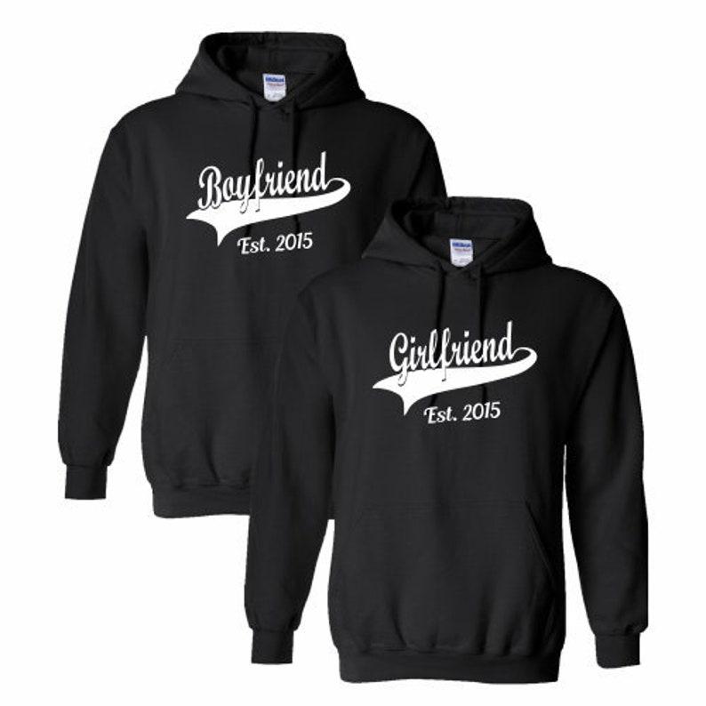 Personalised Girls Black Hooded Sweatshirt Hoodie Hoody