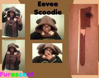 EEVEE Scoodie scarf hoodie from POKEMON
