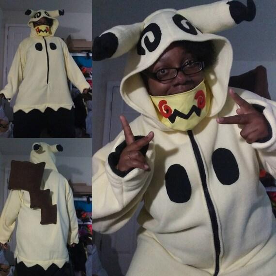 Pokemon sun and moon Litten cosplay costume hoodie