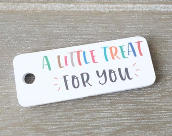 Little Treat Gift Tags (20mm x 50mm) • Thank You Tags • Party Favour • Product Label • Baked With Love Tags • Business Tags