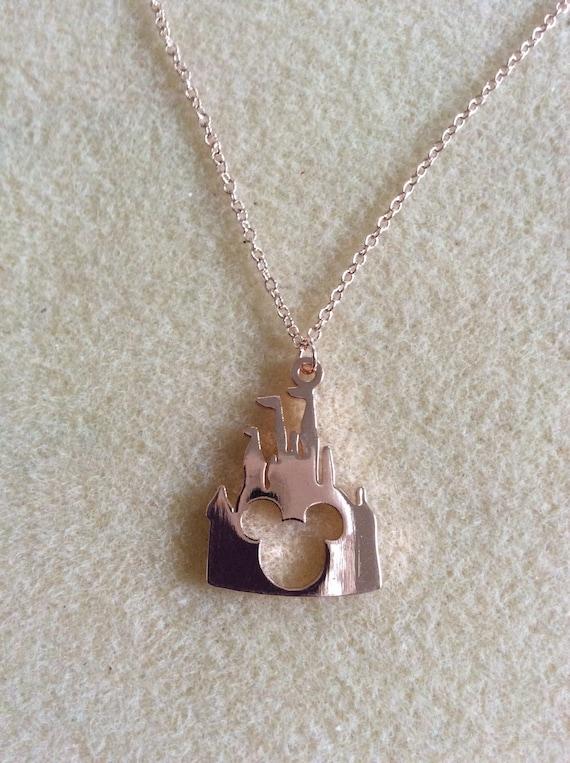 Castle Charm Necklace