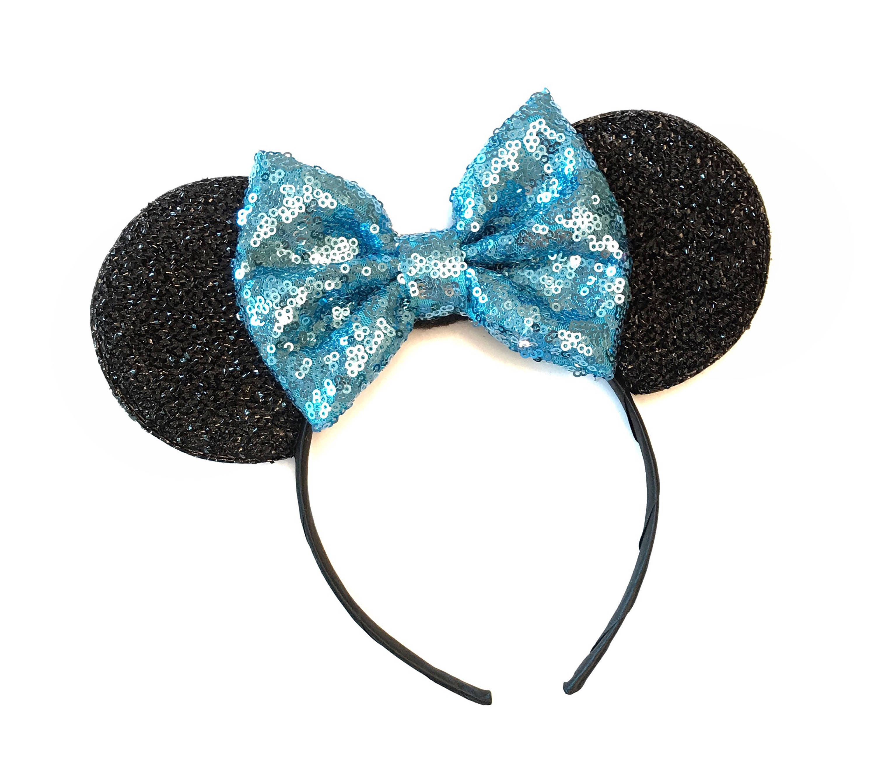Baby Blue Minnie Ears Minnie Mouse Baby Blue Ears Mickey