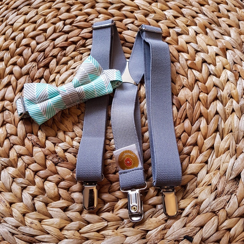 liberty of london bowtie suspenders baby boy and suspenders image 0