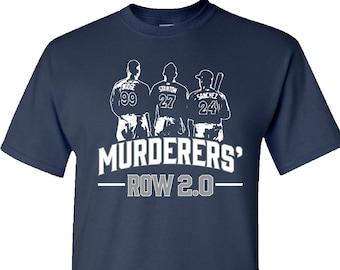 MURDERERS  ROW 2.0 - New York Yankee T-Shirts - Aaron Judge T-Shirt -  Stanton T-Shirt 3dca0eb65d6