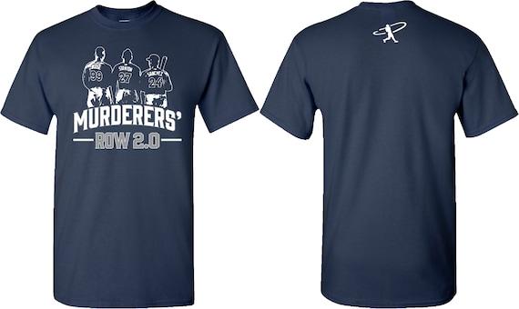 huge selection of 92090 d6901 MURDERERS' ROW 2.0 - New York Yankee T-Shirts - Aaron Judge T-Shirt -  Stanton T-Shirt