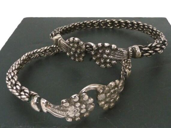 Anciens Bracelets Kabyles Argent    Paire Bracelets Cheville   Etsy 70ad26056e0