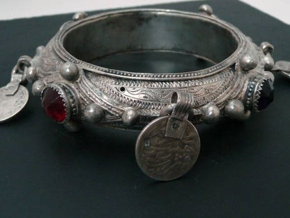 Alte Berber Marokko Mauretanien Feine Silbernen Armband Etsy