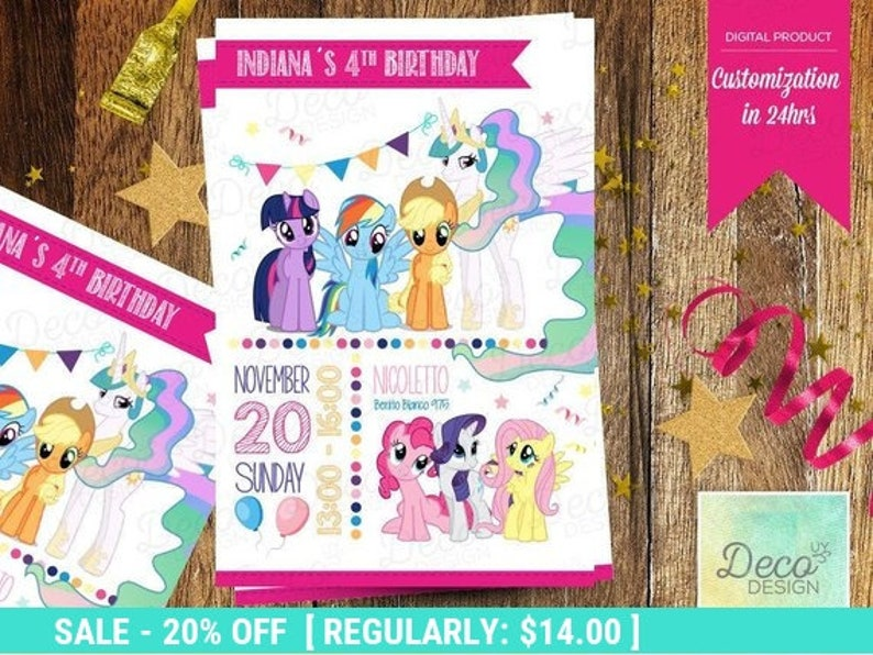 image relating to My Little Pony Printable Invitations named My Tiny Pony Printable invitation, Pony Birthday Invitation