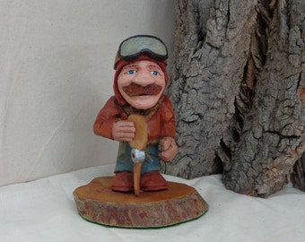 Caricature carving by phil bishop the woodworking enthusiasts