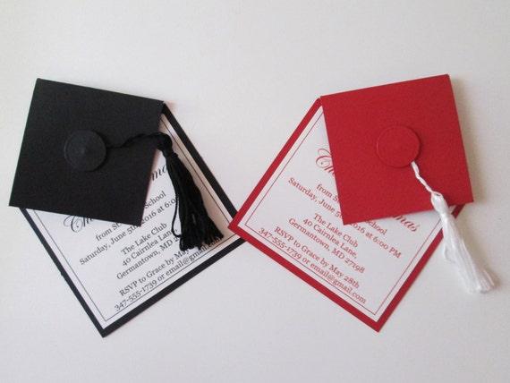Graduation Invitations High School Graduation Party Etsy