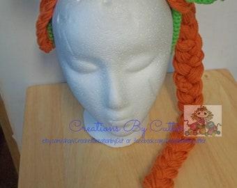 Crochet Shrek's Princess Fiona Headband, with/without hair, headbands, gift ideas, handmade gifts, Comics/ Movies Character Inspired gifts