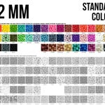 10-1,000 - 12 mm Silicone Beads - Seamless Silicone Beads - Standard Colors