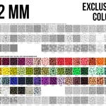 10-1,000 12 mm Silicone Beads - Seamless Silicone Beads - Exclusive Colors