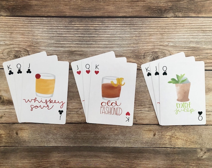 Whiskey Deck of Cards