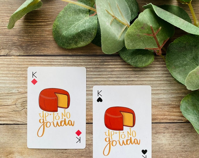 Cheese Deck of Cards