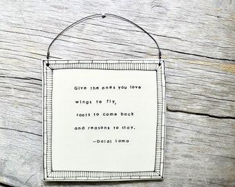 Dalai Lama Inspirational Quote Print In Black And White Live