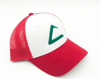 32ad6ab73c8 Pokemon Ash Ketchum Hat Snap Back Ash Hat Ash Costume