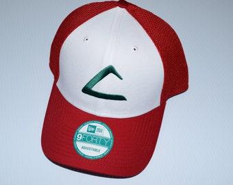 Pokemon Ash Ketchum League Hat  9c45481a618