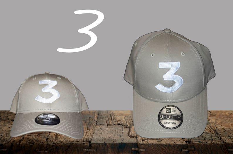 b652784c Chance 3 Hat Inspired Khaki New Era Hat Chance Rapper | Etsy