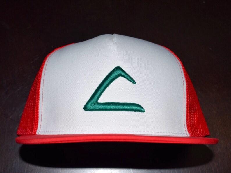 1f3124e49b1 Pokemon Ash Ketchum 3D Hat Yupoong SnapBack Ash Hat