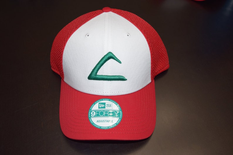 51f6ba64ede Pokemon Ash 3D Ketchum League Hat Ash Hat Ash Costume