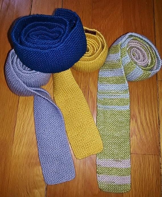 Necktie Patterntie Patternknit Tie Patternknit Etsy