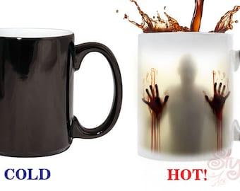 Zombie Color Change Coffee Mug