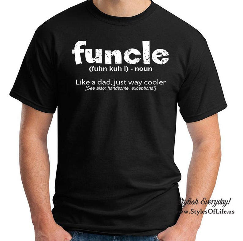 ff6c0ac6 Funcle Shirt Funny Uncle Definition T-shirt Funny Gift For | Etsy