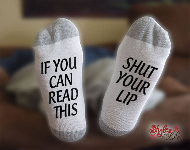 If You Can Read This Gift For Him Gift For Wife Shut Your Lip Gift For Her Gift For Husband
