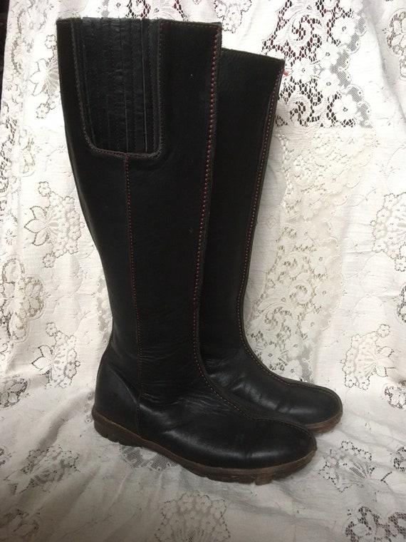 Fluevog Tall Flat Boots