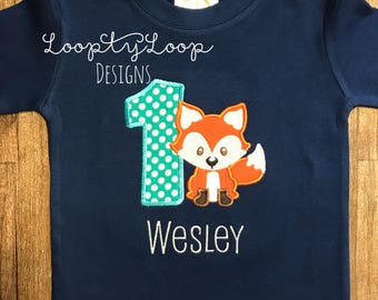 Fox Cake Smash Birthday Party Outfit