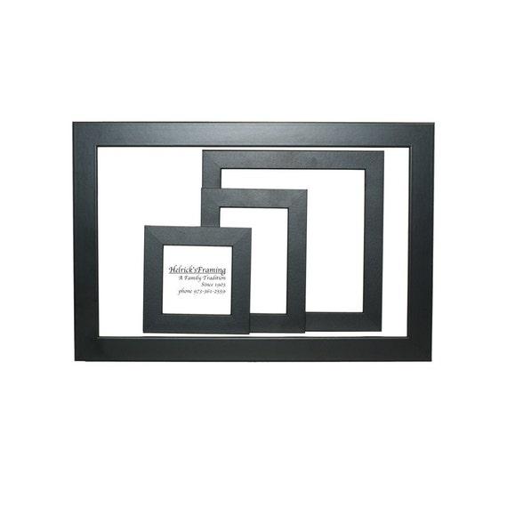 Black Picture Frames 4x4 4x6 5x5 5x7 6x6 7x7 8x10 8.5x11.5 | Etsy