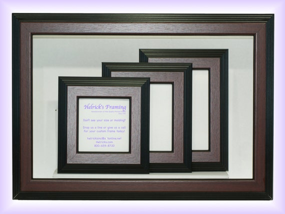 Mahogany Picture Frames From 4x4 20x30 Or Larger Custom Etsy