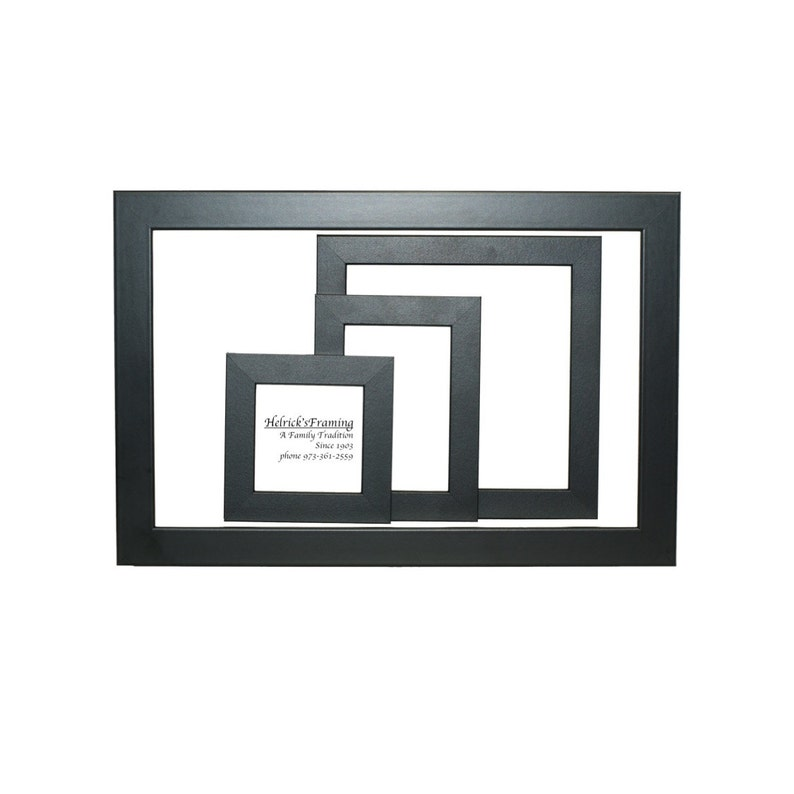 Black Picture Frames Hard to Find Sizes up to 4x4 4x6 5x5 5x7 8x8 8x10  8 5x11 9x9 10x10 10x20 10x24 12x12 12x14 16x20 20x20 any Custom Size