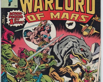This item is a 41 year old Marvel Comic, Vol 1, No. 1, John Carter, Warlord of Mars, 1977, Near Mint Condition,  1763a