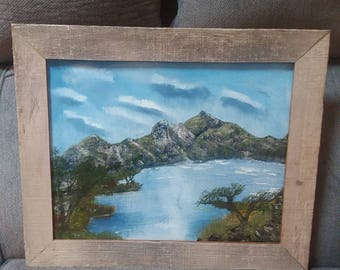 Mountain and water painting