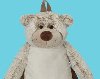 Plush Benjamin Bear Back Pack