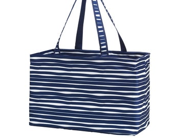 Personalized Ultimate Utility Tote | Trunk Organizer | Reusable Grocery Bag | Maid of Honor | Retirement Gift | Teacher Organizer Bag
